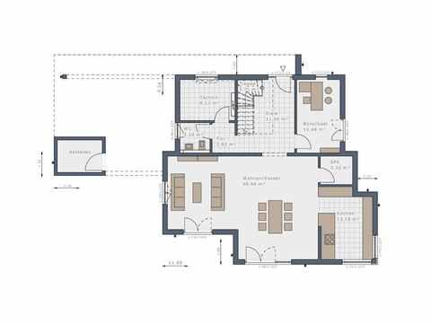 Einfamilienhaus Selection-E-175 E6 - Schwabenhaus Grundriss EG