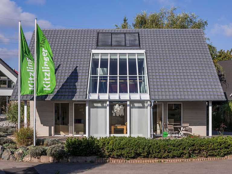 Musterhaus Fellbach - KitzlingerHaus Seitenanblick