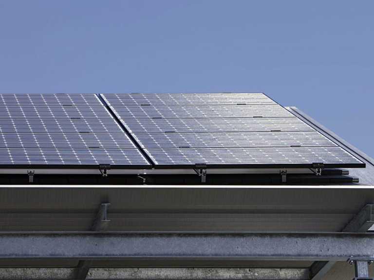 Außenansicht Solaranlage - Außenansicht Solaranlage