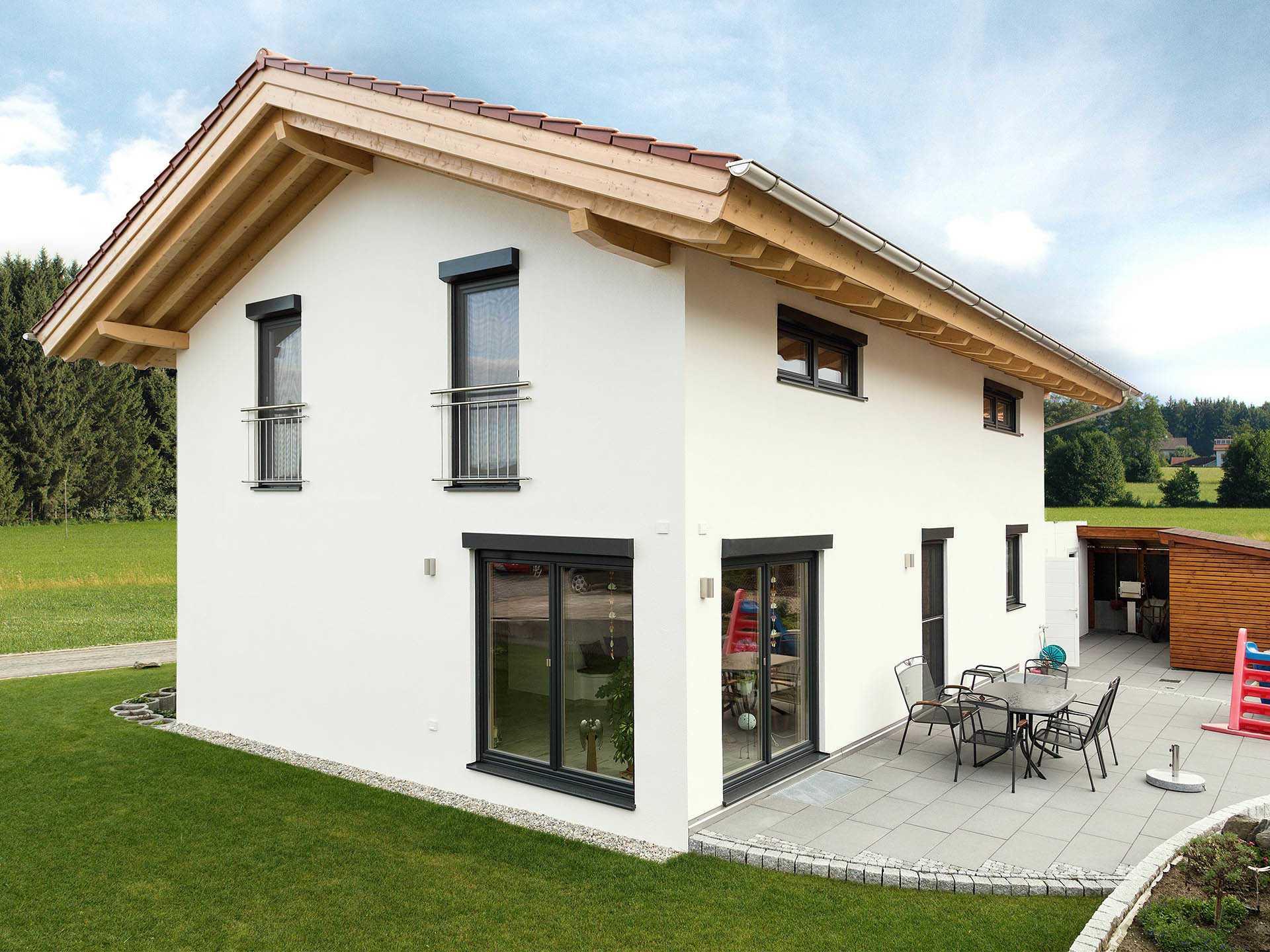 Chiemgauer Holzhaus massivholzhaus köln raumwunder einfamilienhaus chiemgauer holzhaus