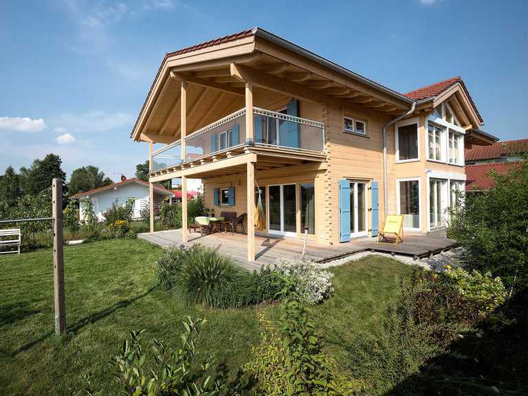Chiemgauer Holzhaus - Blockhaus Chieming