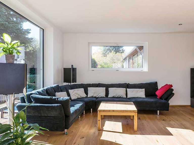 Wohnbereich - KitzlingerHaus - Referenzhaus Hirschau