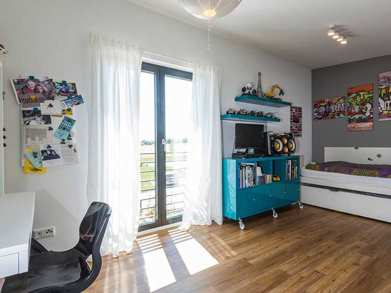 Kinderzimmer - Kitzlingerhaus - Referenzhaus Emmingen