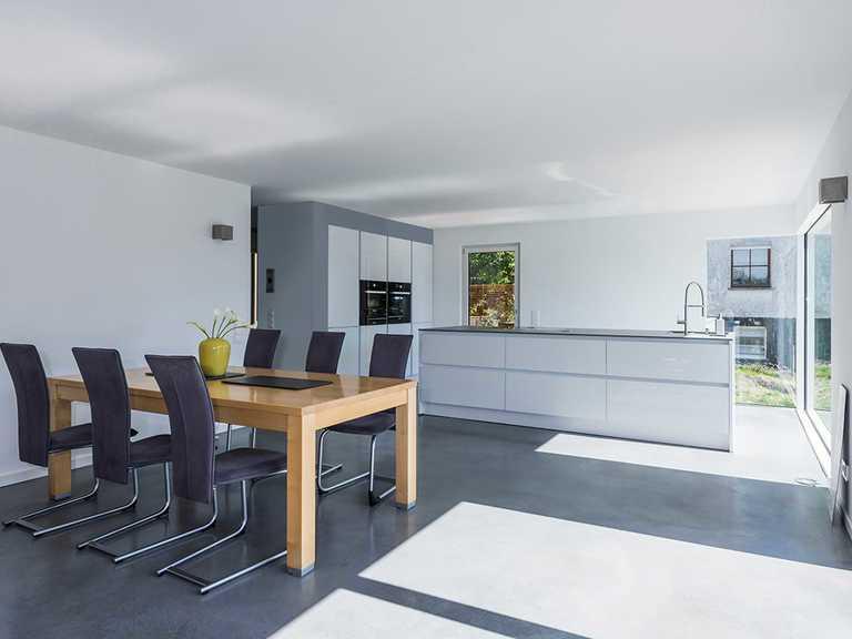 Küche und Essbereich - KitzlingerHaus - Referenzhaus Dettingen/Erms