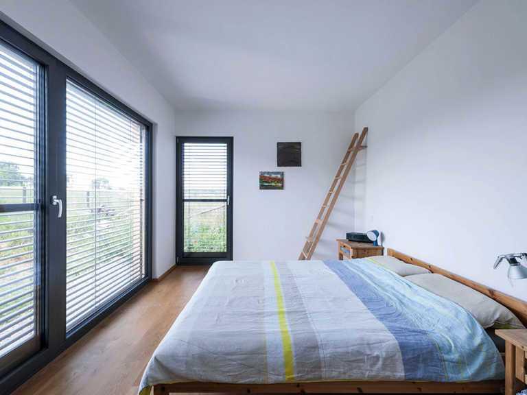 Schlafzimmer - KitzlingerHaus - Referenzhaus Steinenbronn