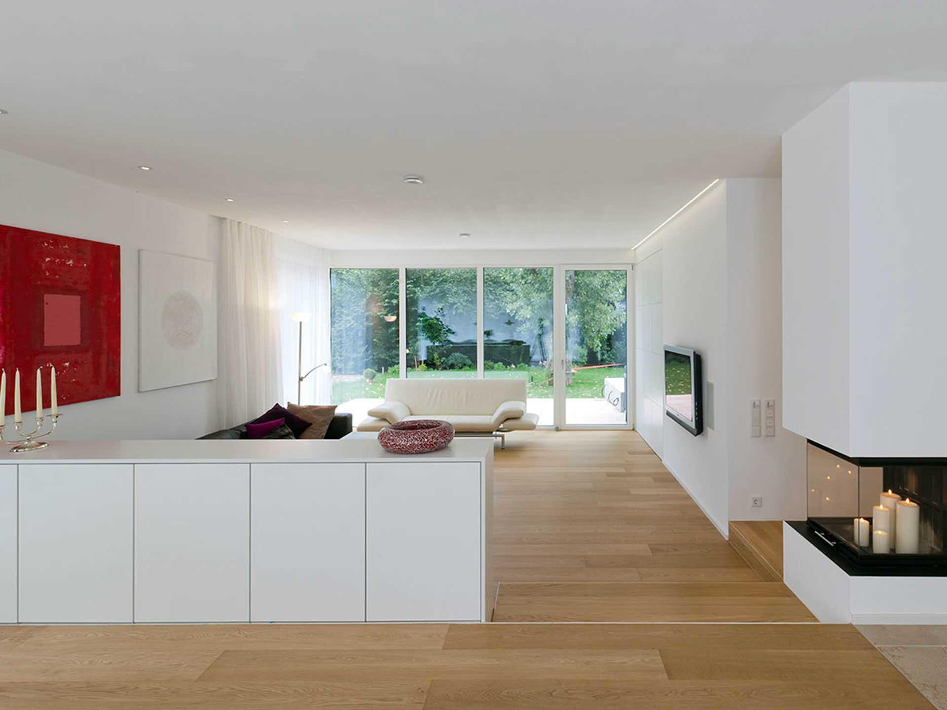 Referenzhaus stuttgart kitzlingerhaus for Wohnzimmer stuttgart