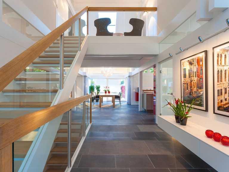 Musterhaus Frankfurt Wohnen auf zwei Ebenen
