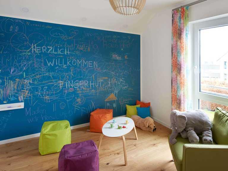 Musterhaus Günzburg Fingerhut Haus Kinderzimmer