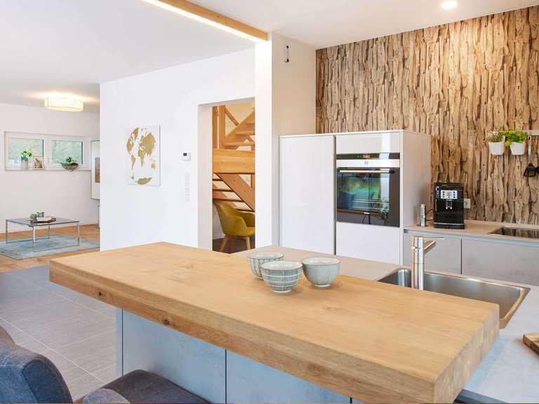 Musterhaus Günzburg Fingerhut Haus offene Küche