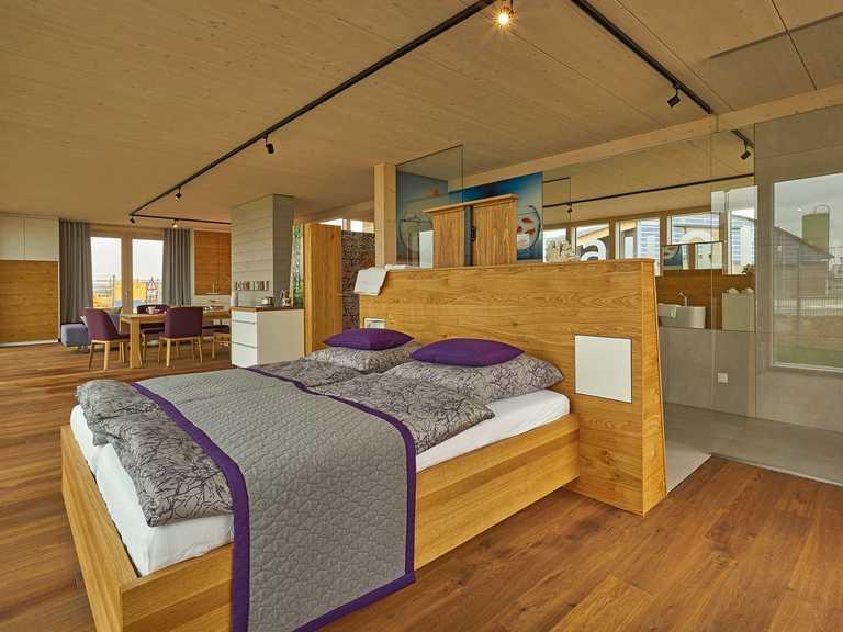 Musterhaus Merklingen Schlafzimmer