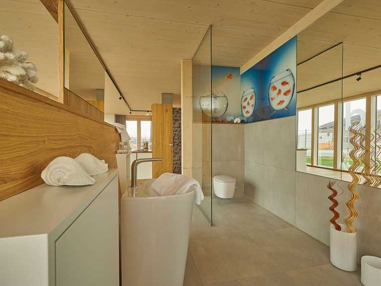 Musterhaus Merklingen Badezimmer