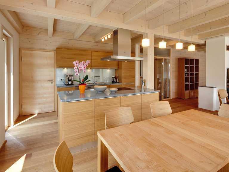 Musterhaus Eresing Wohnbereich