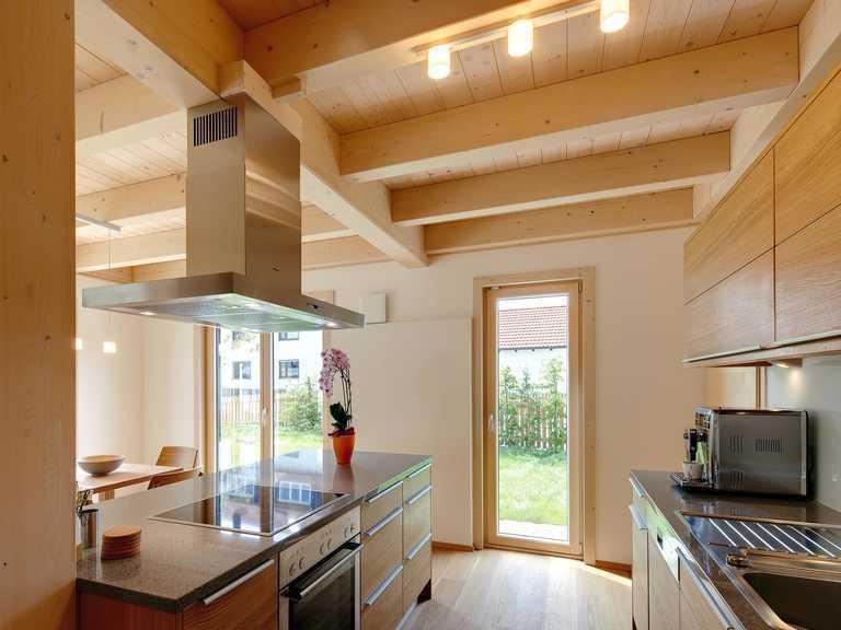 Musterhaus Eresing offene Küche 2