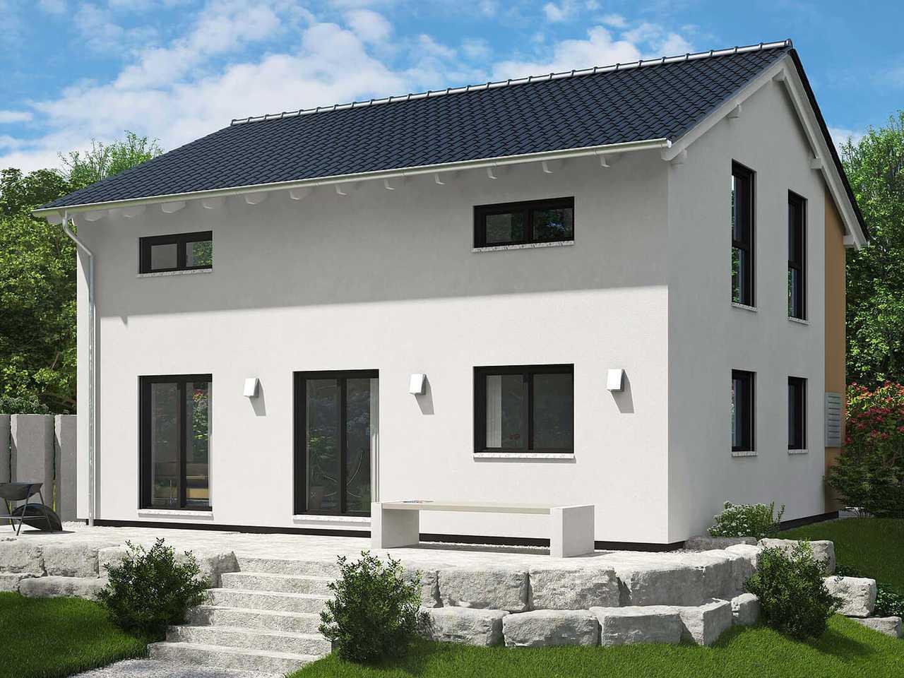 Einfamilienhaus Oslo Außenansicht