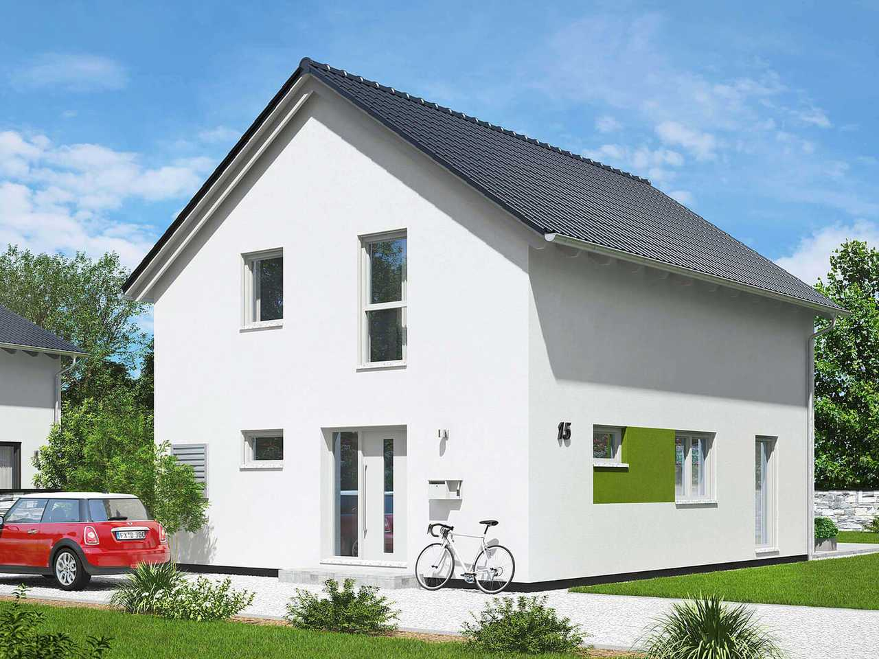 Einfamilienhaus Paris Hauptansicht