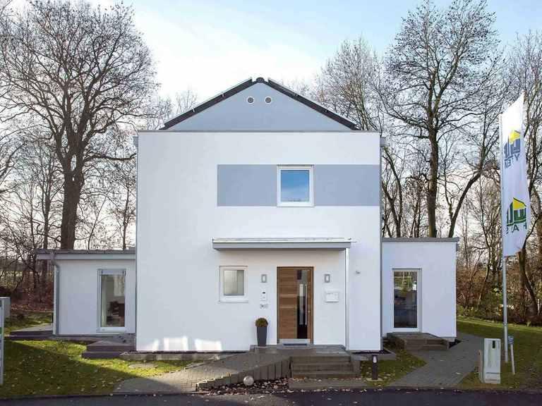 Musterhaus Patria - WOLF System Haus Eingang