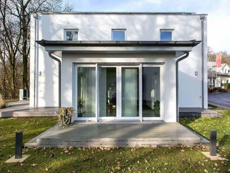 Musterhaus Patria - WOLF System Haus Terrasse