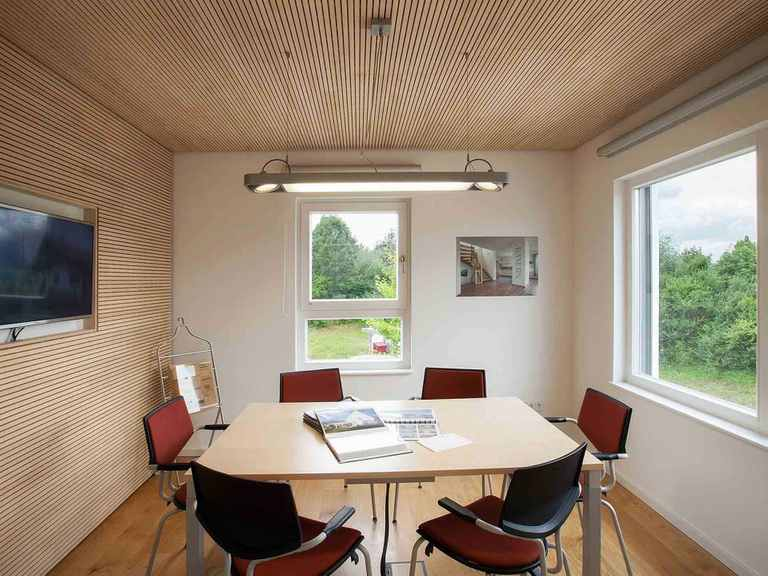 Musterhaus Lumina - WOLF System Haus Büro