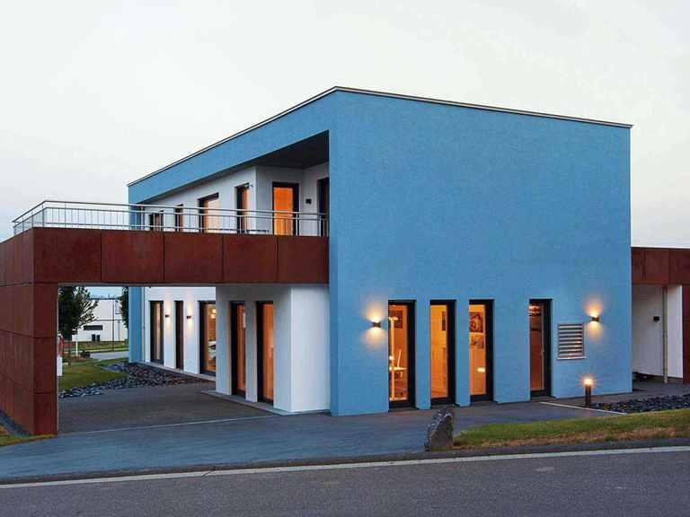 Musterhaus Wincheringen - WOLF System Haus Außenansicht