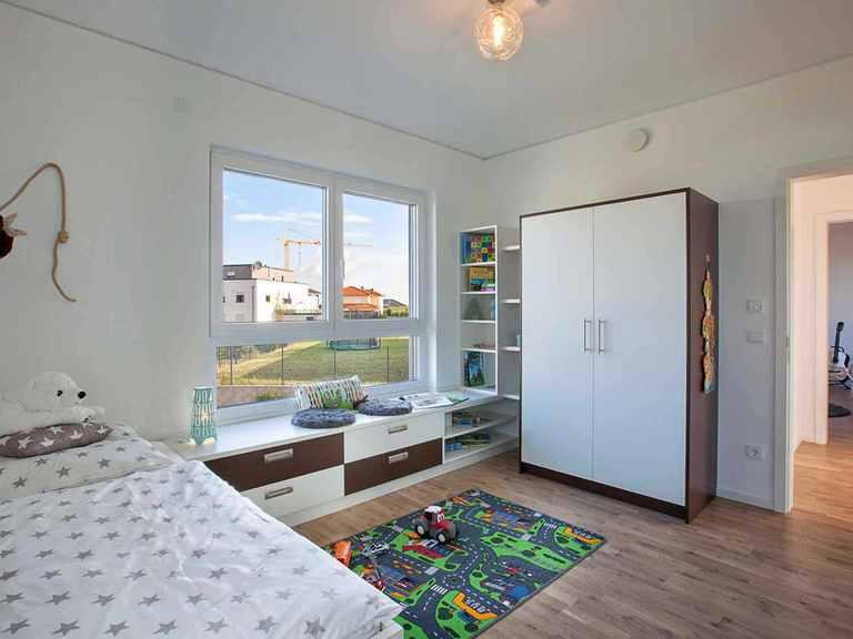 Musterhaus Wincheringen - WOLF System Haus Kinderzimmer (Junge)