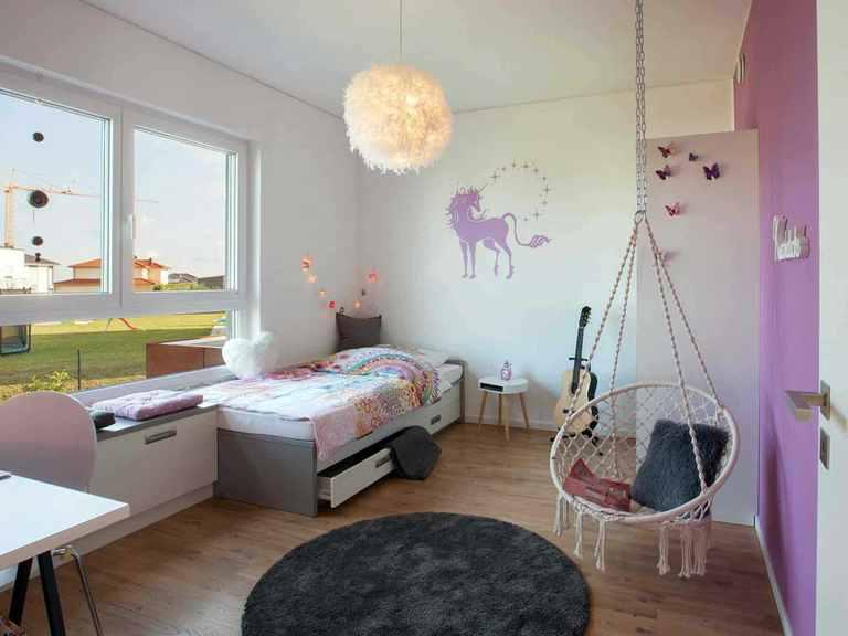 Musterhaus Wincheringen - WOLF System Haus Kinderzimmer (Mädchen)