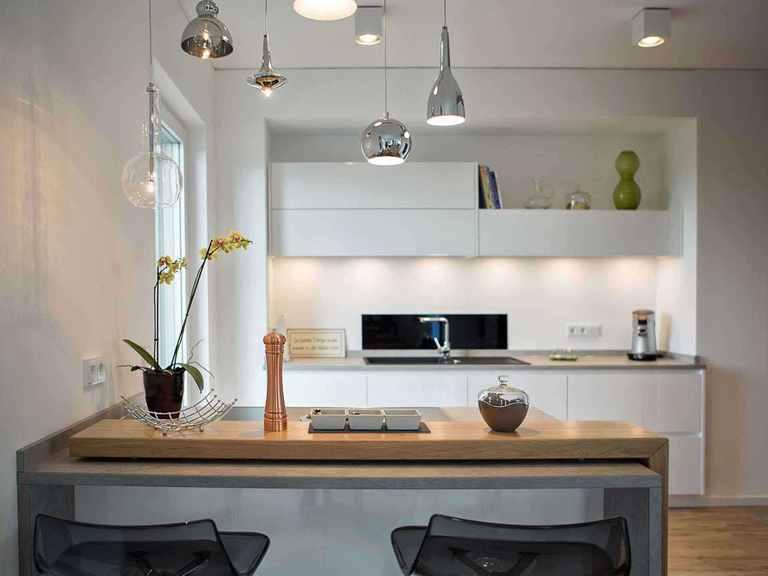 Musterhaus Wincheringen - WOLF System Haus Küche