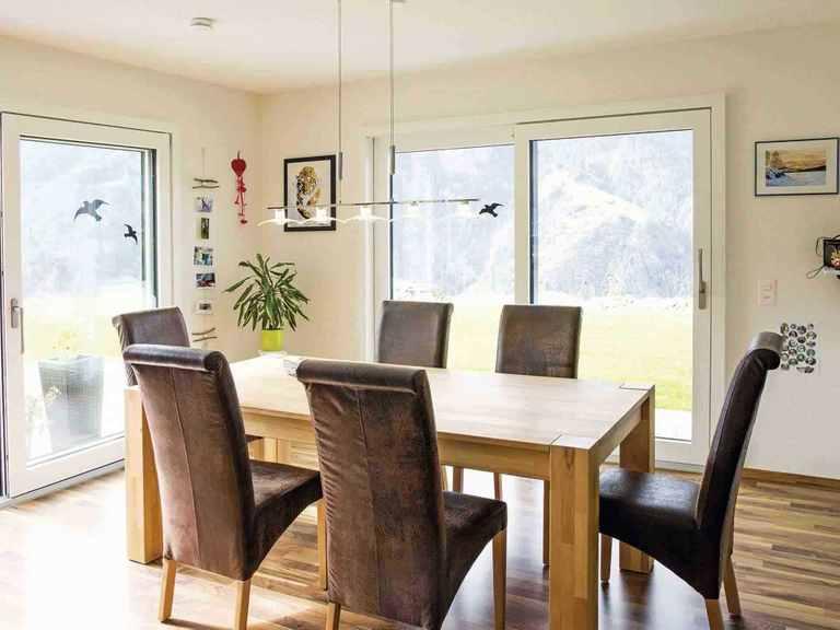 Einfamilienhaus Balance 300 - WeberHaus Essbereich