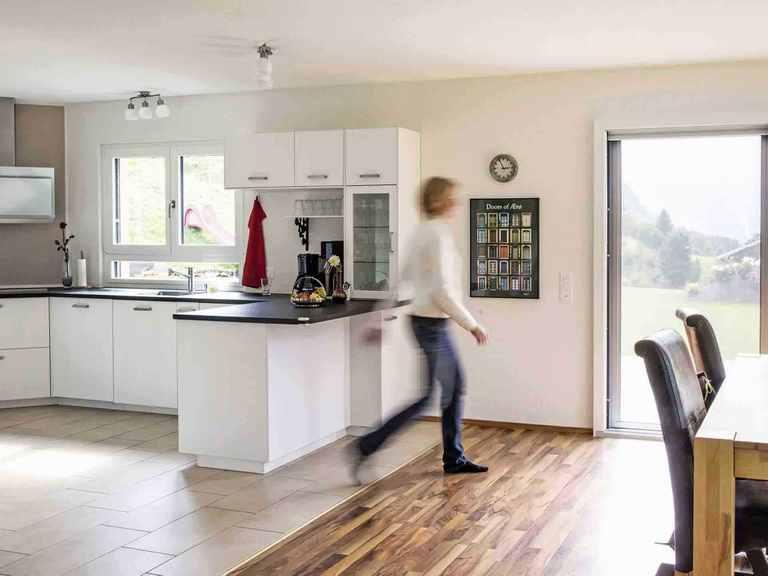 Einfamilienhaus Balance 300 - WeberHaus Küche