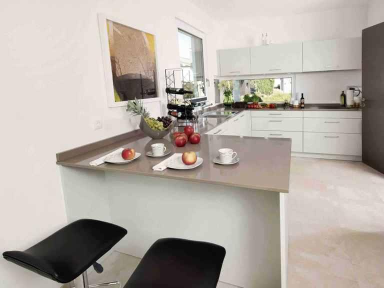 Einfamilienhaus Balance 080 - WeberHaus Küche