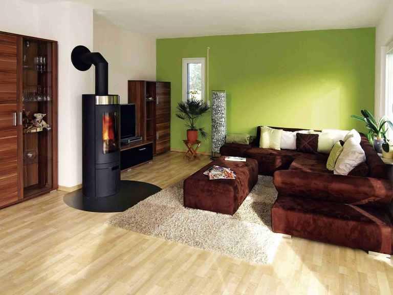 Stadtvilla Balance 100 - WeberHaus Wohnzimmer