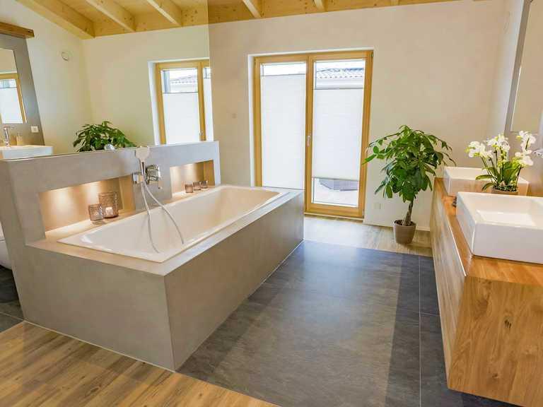 Musterhaus Petra von Fink Haus Badezimmer