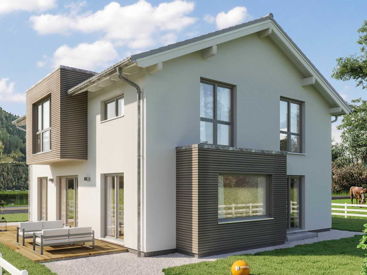 Einfamilienhaus Sento 400 Variante D