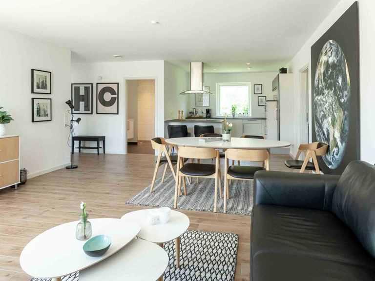 Bungalow B123 - Die HausCompagnie Wohnbereich