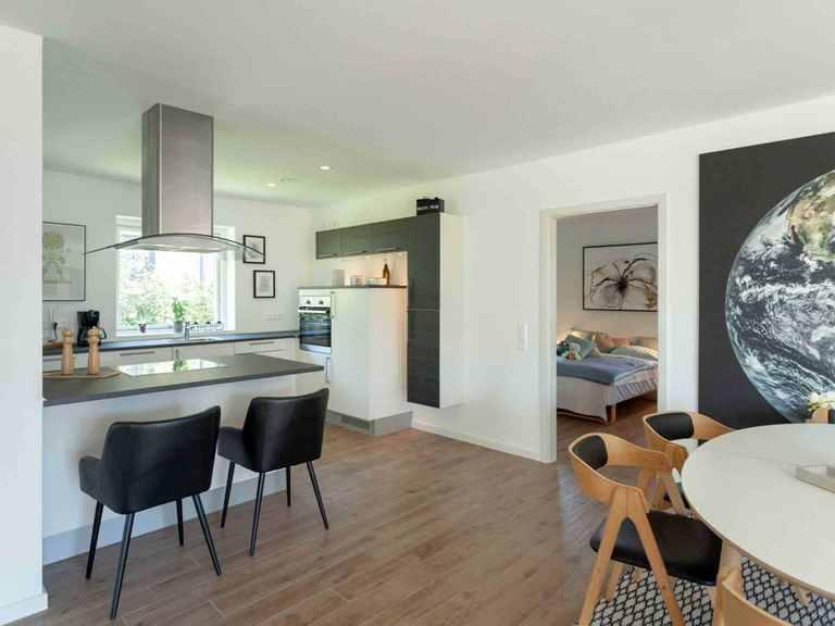 Bungalow B131 - Die HausCompagnie Offene Küche