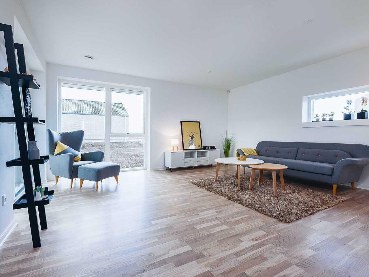 Doppelhaus DH144 Innenansicht Wohnzimmer