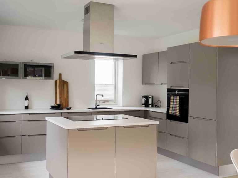 Doppelhaus DH144 - Die HausCompagnie Offene Küche