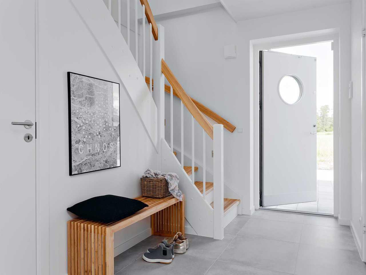 Einfamilienhaus EFH143 Innnenansicht Eingang