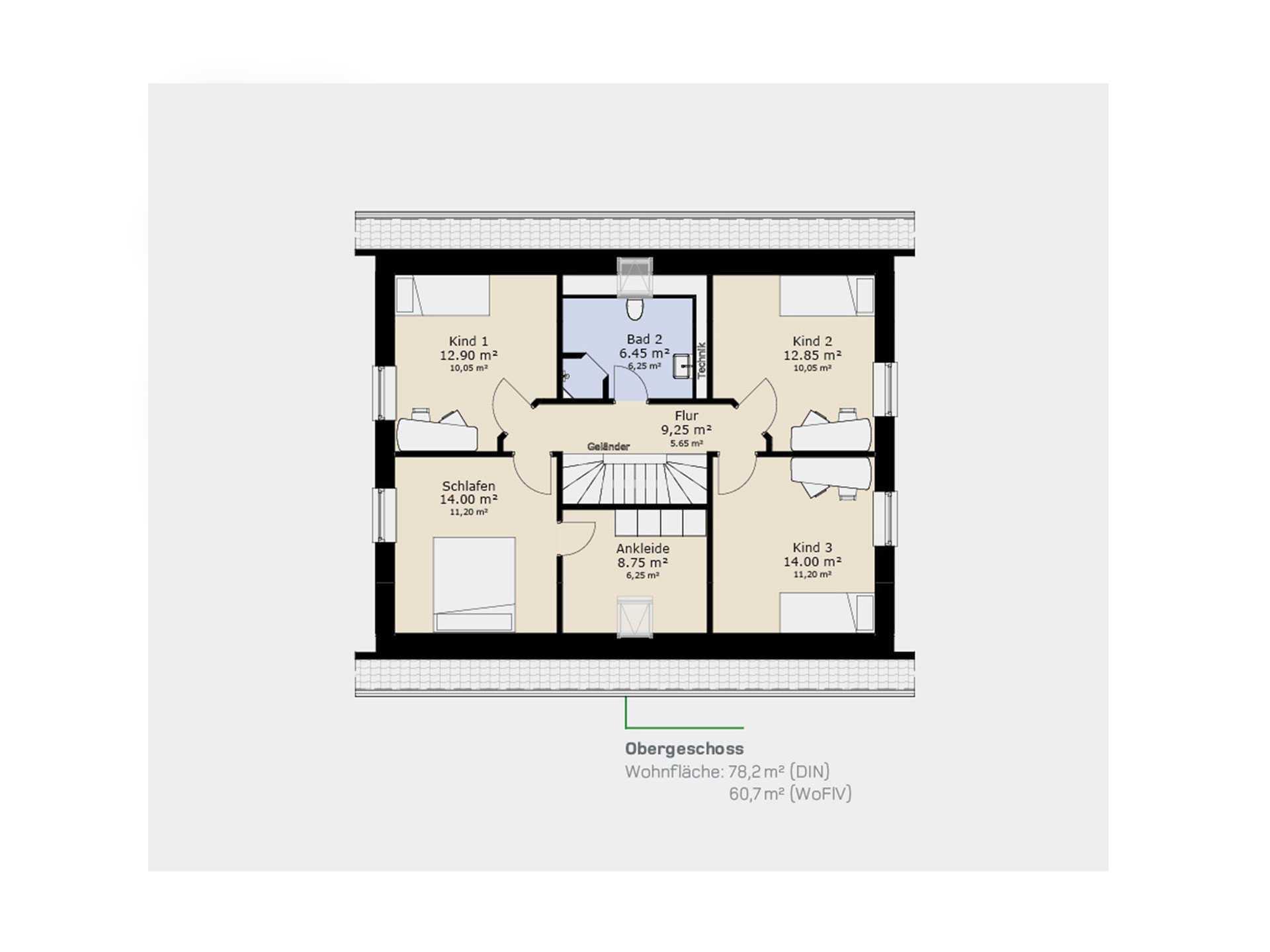 Einfamilienhaus EFH160 - Die HausCompagnie