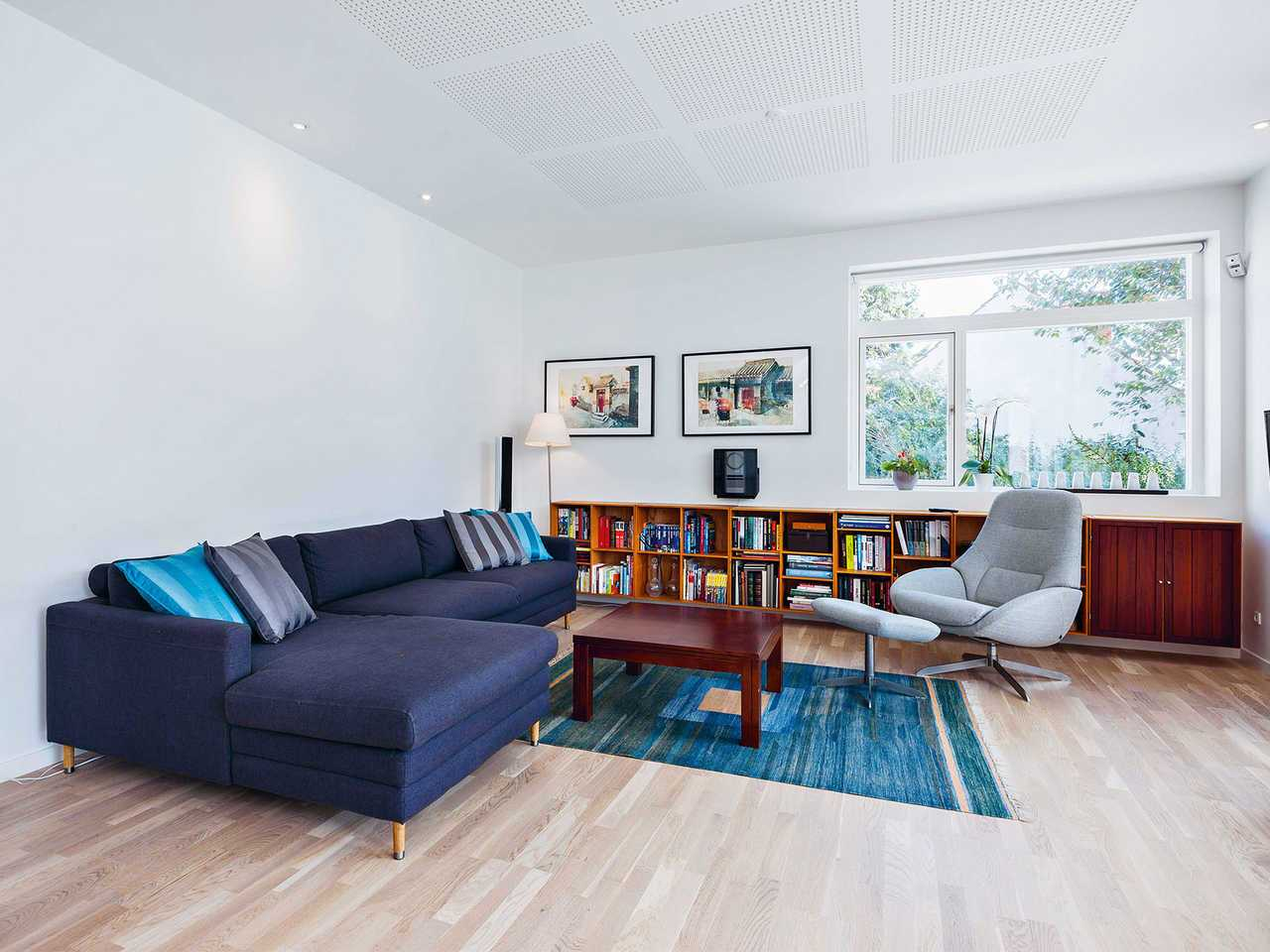 Stadtvilla SV161 Innenansicht Wohnzimmer