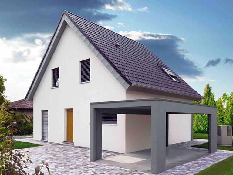 ICON 3 mit Satteldach - Dennert Raumfabrik