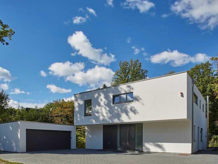 Designhaus Kubus, Frontansicht