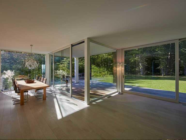 Designhaus Kubus, Wohnzimmer