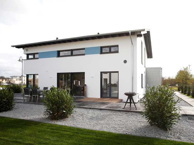 Musterhaus Werder, OKAL Haus, Aussenansicht 2