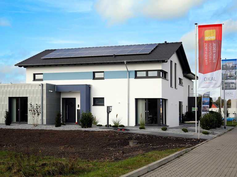Musterhaus Werder, OKAL Haus, Aussenansicht 3