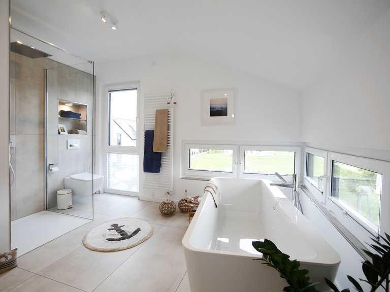 Musterhaus Werder, OKAL Haus, Badezimmer