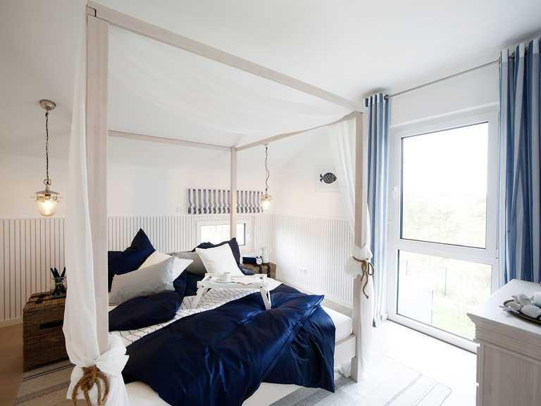 Musterhaus Werder, OKAL Haus, Schlafzimmer
