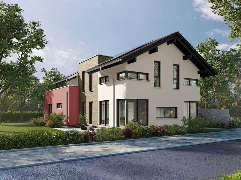 Musterhaus Estenfeld von OKAL Haus Visualisierung