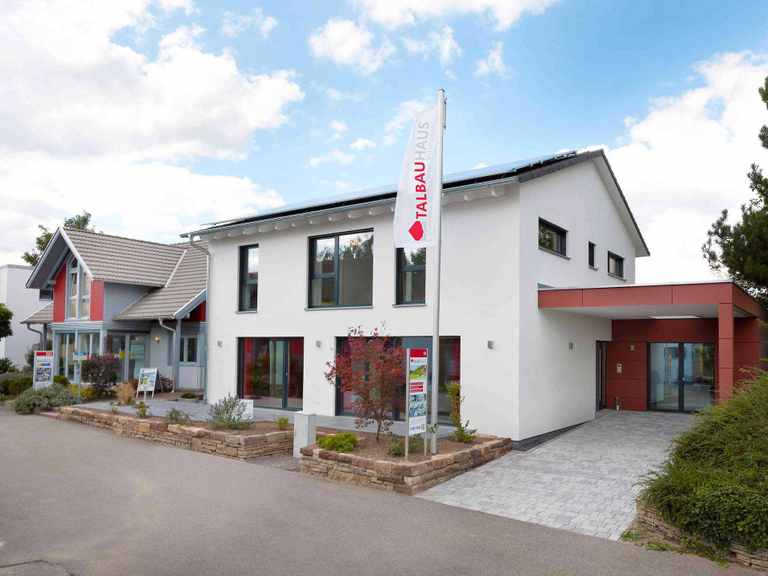 Musterhaus Fellbach-Stuttgart von TALBAU-Haus