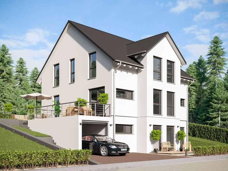 Einfamilienhaus Unikat 129 von TALBAU-Haus