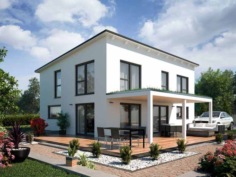 Einfamilienhaus Vario4Plus Modern von TALBAU-Haus